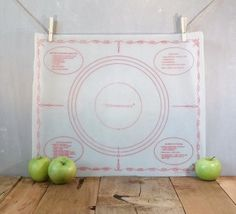 Vintage Tupperware Rolling Mat Baking Supply by RevivedTraditions, $15.00