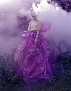 In the garden of good & evil Photo of Edie Campbell By Tim Walker For Love Magazine