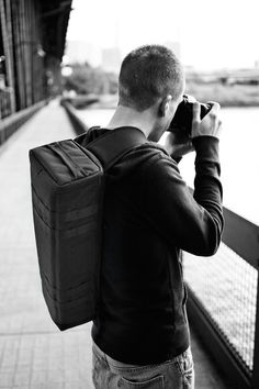 Urban Quiver camera bag - designed and made in Portland, OR | $125 at www.blackstonebags.com