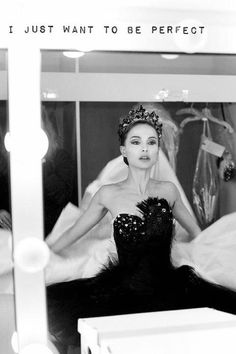 Natalie in the Black Swan