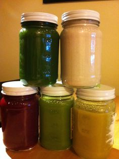 Homemade juice like Blueprint