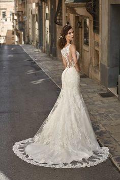 11 fantastiche immagini su abito bianco in pizzo  9981b294773