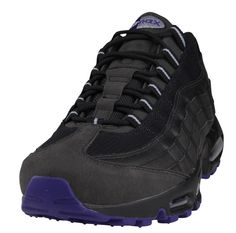 Nike Air Max 95   Black, Wolf Grey & Court Purple