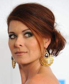Dare to Go Red: Photos of Gorgeous Red Hair Color: Gorgeous Redheads: Debra Messing