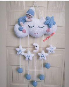 How To Crochet an Amigurumi Rabbit Crochet Baby Mobiles, Crochet Mobile, Crochet Baby Toys, Baby Knitting, Crochet Doll Pattern, Crochet Patterns Amigurumi, Crochet Dolls, Amigurumi Toys, Crochet Wreath