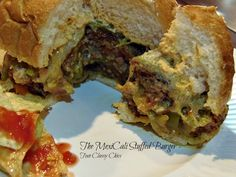 Stuffed Burgers on Pinterest | Stuffed Burger Recipes, Stuffed Burgers ...