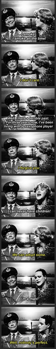 Some Like It Hot Super great movie