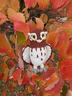 Great Grey Crochet: Gylfie the Elf Owl...free pattern!