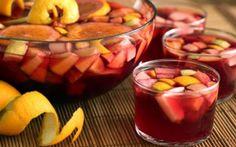 Cóctel de Frutas al Vino