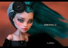 Monster High Repaint Art Doll OOAK – Nefera de Nil | Veronella