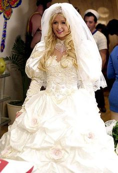 "Paris Hilton as Cristabel Abbott in ""The Hottie and the Nottie"" (2008)"