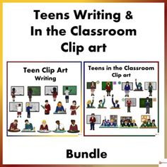 Teen Writing and In the Classroom Clip Art Bundle Writing Resources, School Resources, Classroom Resources, Teaching Resources, Teaching Ideas, Classroom Ideas, Behavior Management Strategies, Reading Strategies, Classroom Management
