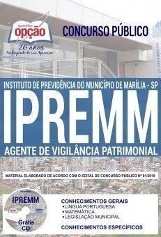 Apostila Ipremm 2019 Agente De Vigilancia Patrimonial Pdf E