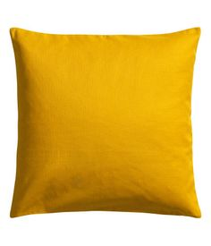 Mustard Cushion Cover - only $6! Product Detail | H&M US