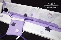 Alice Balice DIY - Tour de lit étoiles