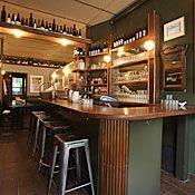 Upholstery Store wine bar via @nymagazine #NYC #MarsDesign     (We did their logo!)