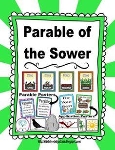 Parable of the Sower @ www.biblefunforkids.com
