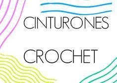 Patrones Crochet: Cinturon de Crochet.Idea y Patron