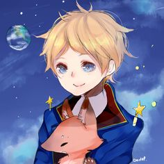 hetalia france the little prince - Google Search