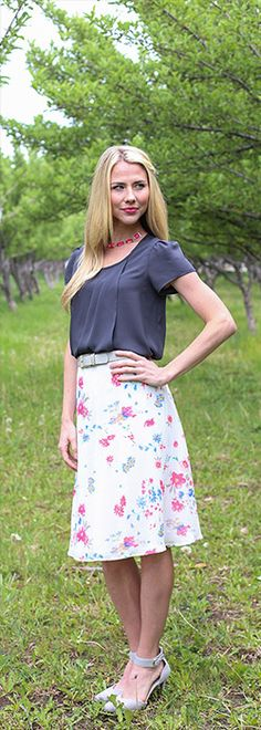 Front Drape Top [MW10851] - $34.99 : Mikarose Boutique, Reinventing Modesty