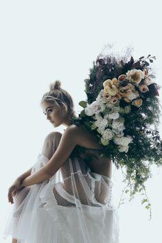 Fleur's Wings Wedding Editorial