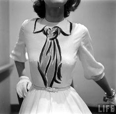 LOVE!!!!    Herbert Sondheim for Hermès - shot in 1951 for Life magazine by Gordon Parks