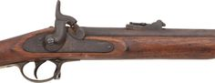 Pattern 1853 .577 Caliber Enfield Percussion Rifle Identified toPrivate Charles W. Sibley Co D. 34th Illinois Infantry...