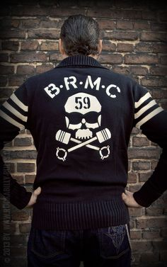 Rumble59 - Racing Sweater - BRMC #50s #MarlonBrando