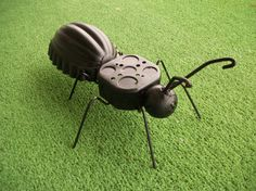 garden art from junk | Junk Art Metal Ant/ Garden Art/ Yard Art/ Recycled by sewupcycle