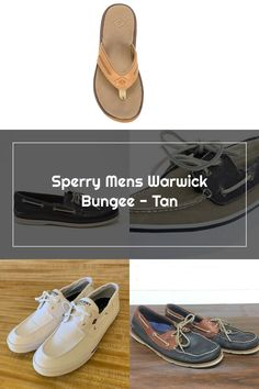 SPERRY Mens Warwick Bungee - TAN Sperrys Men, Boat Shoes, Fashion, Moda, La Mode, Fasion, Loafers, Fashion Models
