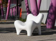 Original design armchair / fiberglass / garden SOLO by Philipp Aduatz  RAUSCH Classics GmbH