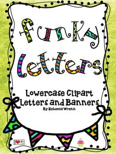 funky uppercase and lowercase alphabet clip art speech bulletin boardsoffice
