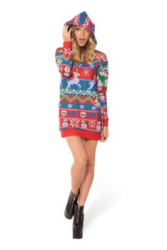 WANT WANT WANT Not Actually Knitted Slouchy - LIMITED › Black Milk Clothing