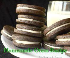 Homemade Oreos Recipe...http://homestead-and-survival.com/homemade-oreos-recipe/