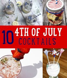 4th of july cocktails for a crowd