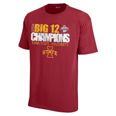 Celebrate the Cyclone Men's Basketball team winning the 2014 Big 12 Championship with this awesome t-shirt! Hurry, supplies are limited!