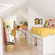 attic bedroom space saver