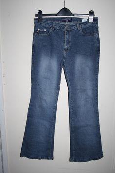 Polo Sport Ralph Lauren Fashion Flare Denim Women's Trousers Jeans Blue 33in 30L…