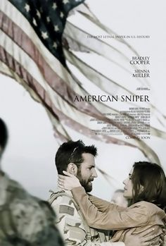 American Sniper is a 2014 American biographical action film directed by Clint Eastwood and written by Jason Dean Hall. It is based on Chris Kyle's autobiography American Sniper: The Autobiography of the Most Lethal Sniper in U.S. Military History and stars Bradley Cooper and Sienna Miller. The film had its world premiere on November 11, 2014 at the American Film Institute Festival and was theatrically released in the United States on December 25, 2014.