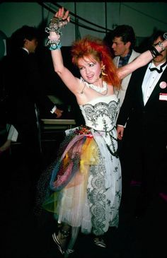Cyndi Lauper... Just be yourself.