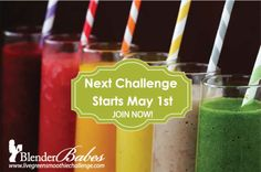 Join @BlenderBabes #FREE Green Smoothie Challenge!! We Provide ALL the Resources You Need to do as a Group OR On Your Own  ~*~ Over $1500 in #GIVEAWAYS to Our Community During the Challenge!! ~*~ * Two (2) Blendtec Designer Blenders + Twister Jar - valued at $570 EACH * One (1) Navitas Naturals Assorted Prized Pack - valued at $100 * One (1) Vega Plant Based Protein Smoothie Kit - valued at $60 * Plus MANY More Individual Healthy Prizes Throughout!!