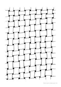 """missredfox - Print """"Net"""" - bnw, black & white, graphic, art, decoration, illustration, drawing // Poster Druck """"Netz"""" - schwarz weiß, grafisch, Kunst, Deko, Geschenk, Zeichnung"""