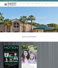 Fellowship of Believers Church, Sarasota, FL | WordPress redesign to Divi theme (from Elegant Themes) http://www.fobfamily.com/