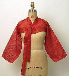 Bodice Date: early 20th century Culture: Korean