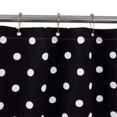 "38"" Duck Cotton Shower Curtain $37.95 at Signature Hardware.  Different colors.  I like Blue Tick Fabric."