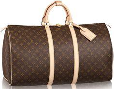 Louis-Vuitton-KeepAll-Monogram-Bag