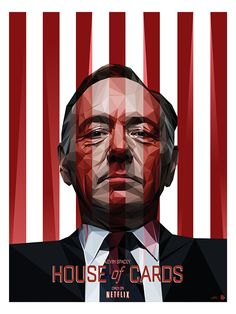 House of Cards by Simon Delart, via Behance