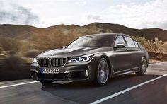 Scarica sfondi BMW M760Li xDrive, 2017 automobili, auto di lusso, serie 7, le auto tedesche, BMW