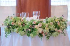 初夏の装花 アルジェントASO様へ ハーブと絆の画像:一会 ウエディングの花