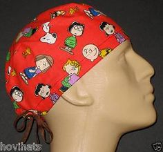 NEW. BUT RARE, PEANUTS GANG SCRUB HAT I JUST LISTED IN MY STORE, HOVIHATS.COM